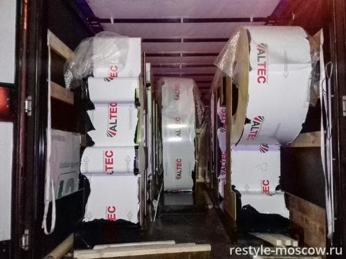 Упаковка готовых изделий для доставки
