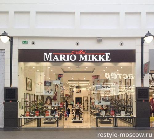 Витрина для Mario Mikke